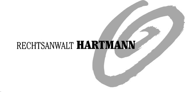 Rechtsanwalt Hartmann